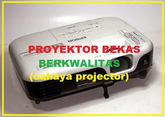 Cahaya Projector proyektor-epson-eb-x100 Proyektor Bekas Proyektor Bekas